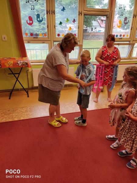 Rozloučení s předškoláky - šerpování 23.6.2021